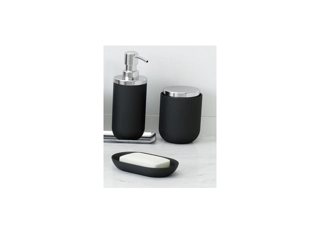 Container w lid Junip Black