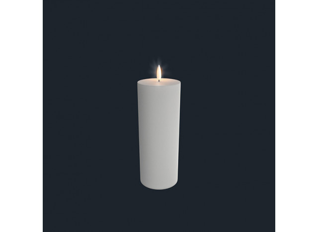 Pillar Candle LED Uyuni 7,8x23,1cm