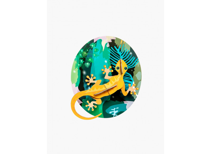 Totem Jungle Gecko