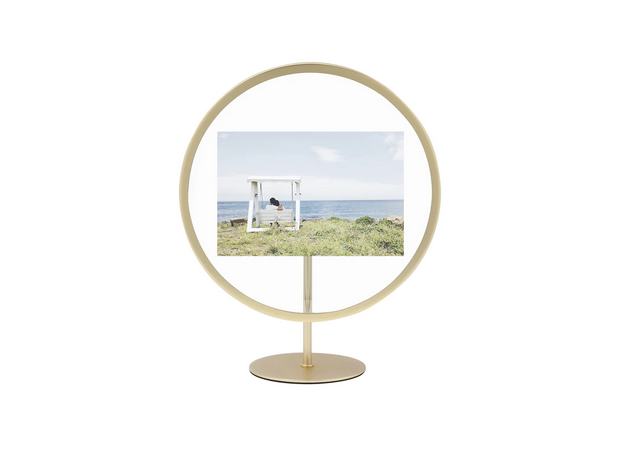 Picture Frame Infinity Brass