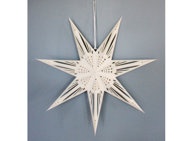 Christmas star Liberty, 7 point 60cm