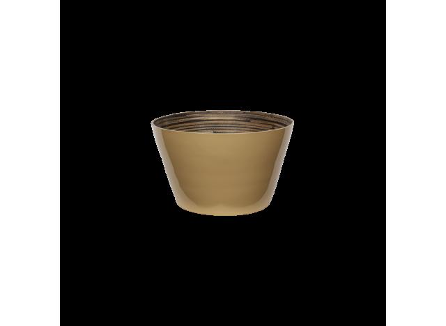 Bamboo salad bowl Wheaten