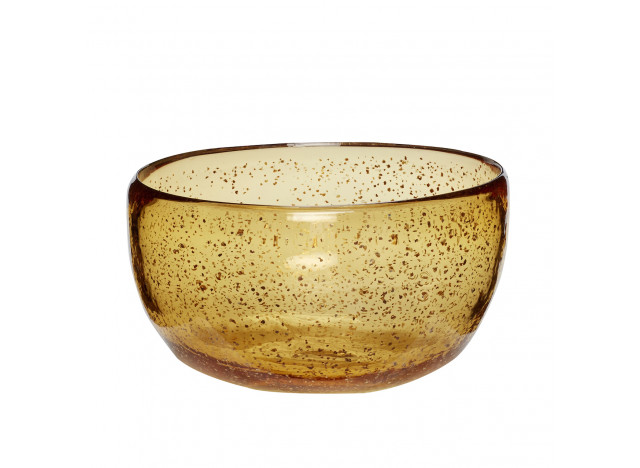 Bowl of Glass Amber