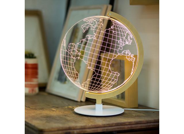 Bordlampe Globe Natur