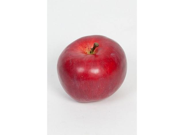 Æble 7cm rød