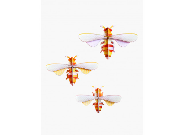 Totem Honey bees set of 3