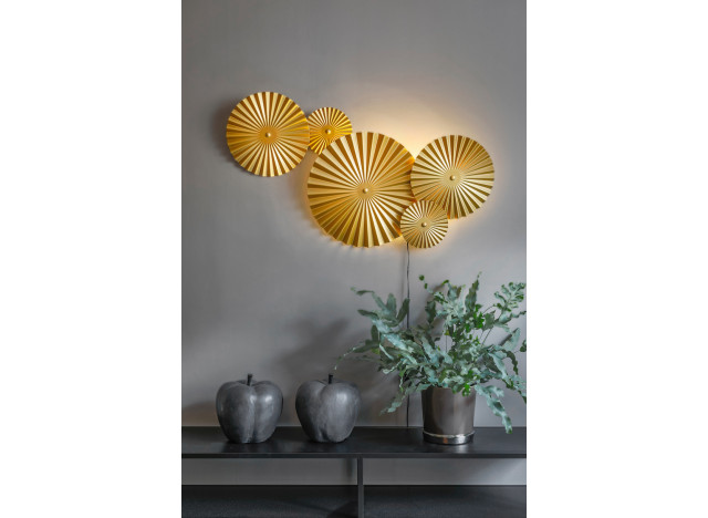 Wall lamp Omega Brass
