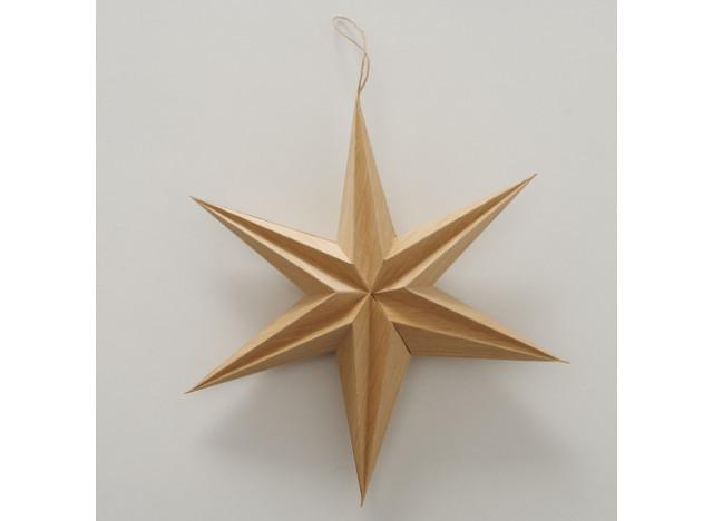 Christmas star Kassia Brun 30cm