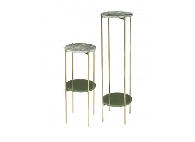 Piedestal Marmor grøn Small