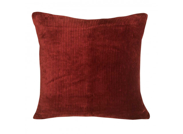 Pude Corduroy Ruby Red 50x50