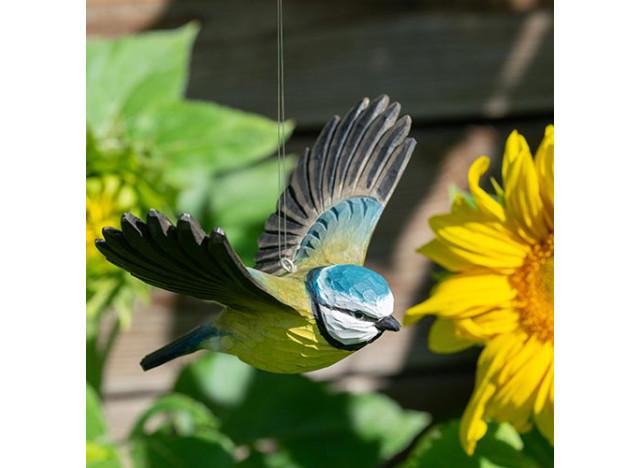 Dekofugl Flyvende Blåmejse