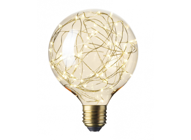 Lyspære LED-kæde 1,5 wat 80 lumen