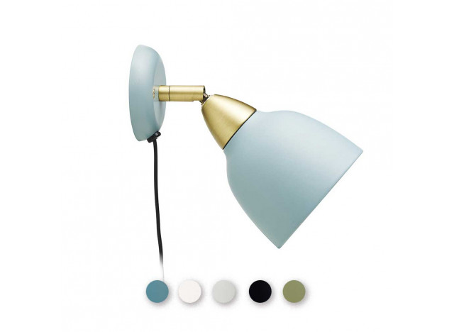 Wall lamp urban short - Mineral Blue