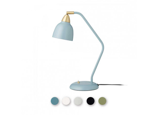 Table Lamp - Urban - Mat Mineral Blue