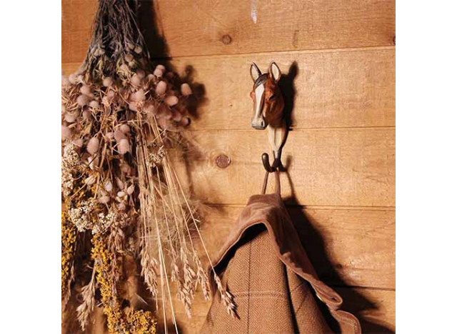 Handcrafted Hook - Horse