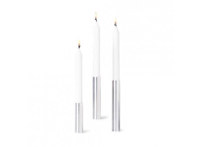 Candlestick Slim Lights Brushed steel- 55° North