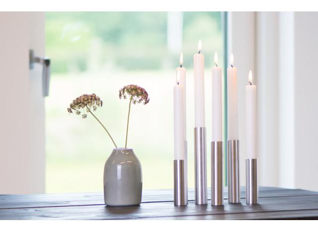 Candlestick Slim Lights Brushed steel- 55° North
