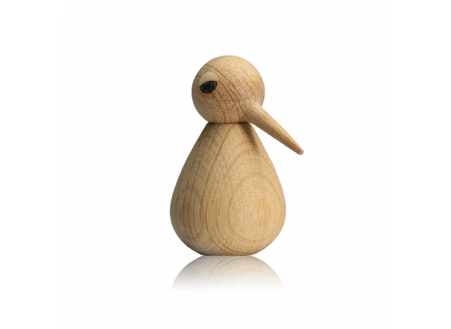 Bird Small 7,5cm Natural Oak