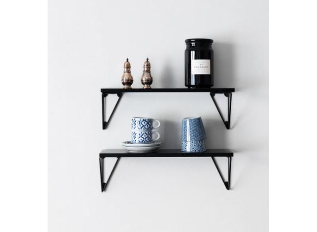 Pytagoras Shelf set XS Black-Black