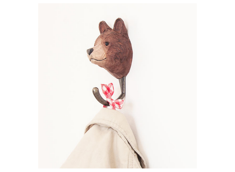 DecoHook Brown Bear