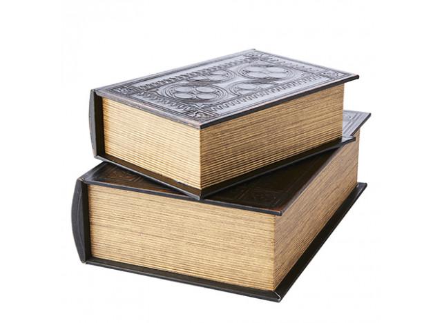 Bog til Opbevaring 2-del Læder