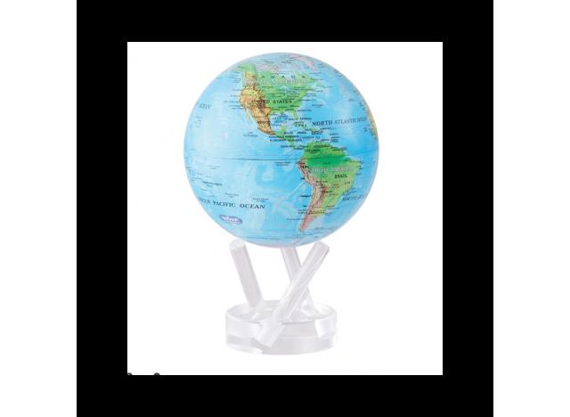 Moving Globe Blue-Green