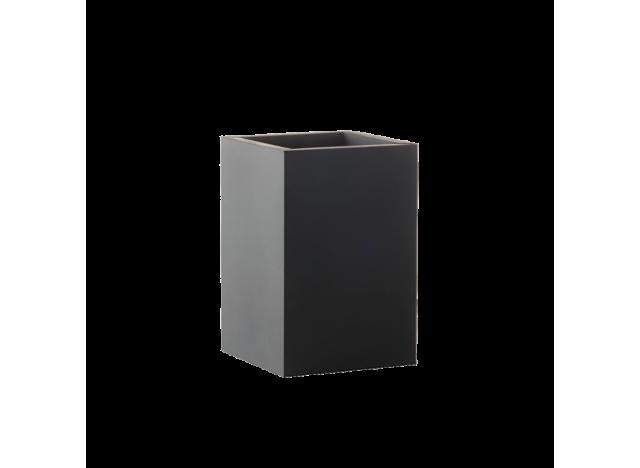 Kvadratisk bakke 30x30 cm - gummi